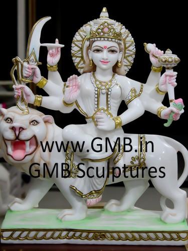Durga Statue on Lion