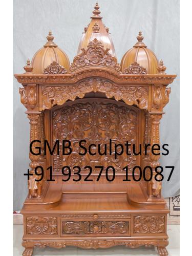 Wooden Ghar Mandir